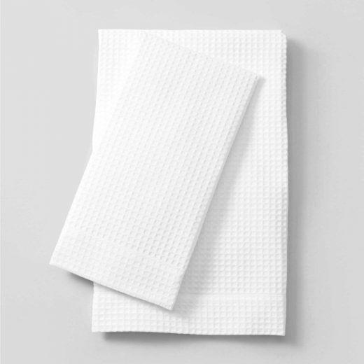 Waffle Hand towel Plain-02