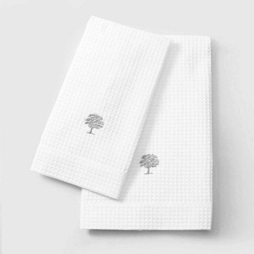 Waffle Hand towel Tree-05